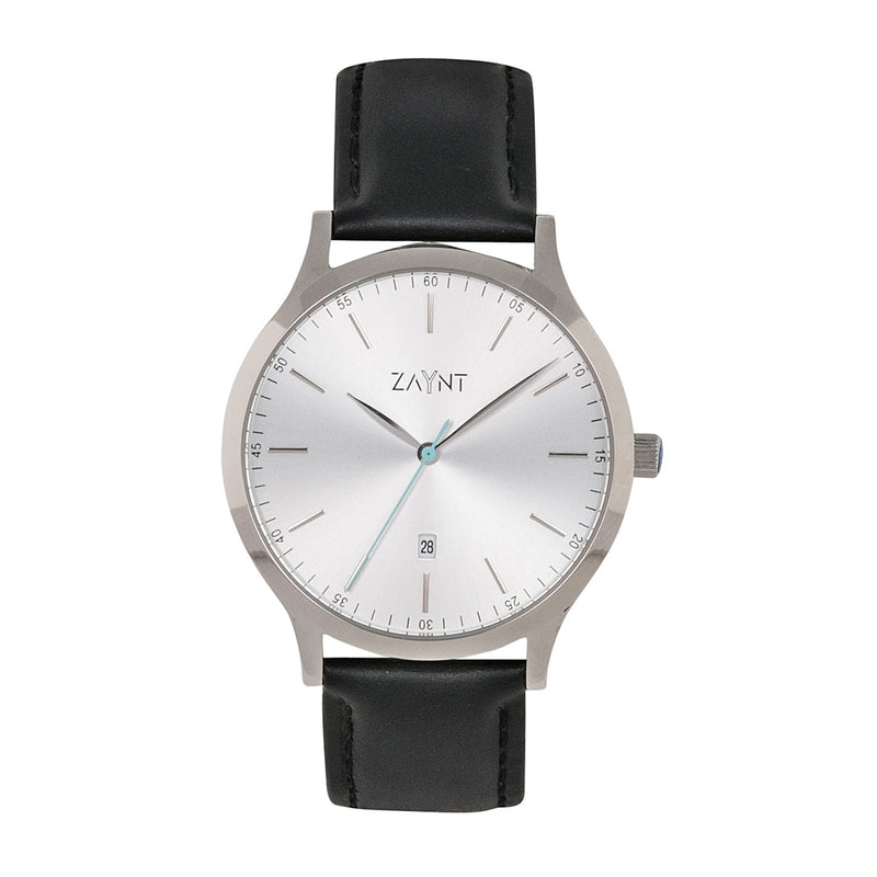 The Mojave Silver Black Leather is a classic minimal watch to suit your diverse lifestyle for any occasion, elevate your look with this modern design at an affordable price.
