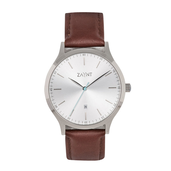 The Mojave Silver Brown Leather is a classic minimal watch to suit your diverse lifestyle for any occasion, elevate your look with this modern design at an affordable price.
