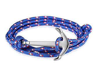 Blue/Red/White Anchor