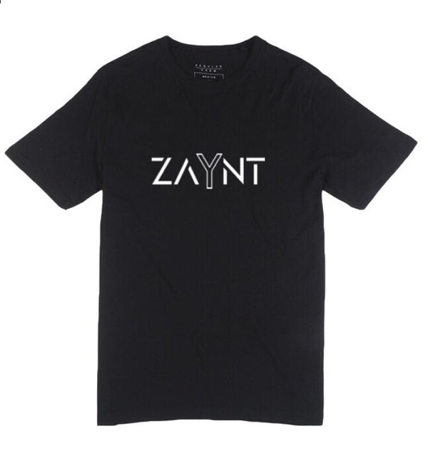 Zaynt Logo T-Shirt Black