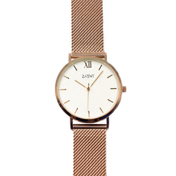 Siena - Rose Gold Mesh