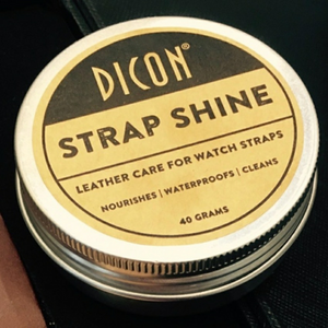 Dicon Strap Shine Demo (Watch Leather Strap Cleaning)