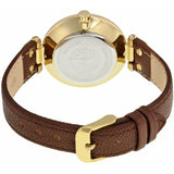 Anne Klein Leather Ladies Watch 10/9168IVBN - Watch it! Pte Ltd