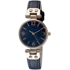 Anne Klein Leather Ladies Watch 10/9442RGNV - Watch it! Pte Ltd