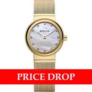 Bering Classic 10122-334 Mother Of Pearl 22 mm Women's Watch - Watch it! Pte Ltd