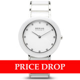Bering Ceramic 11435-754 White 35 mm Women's Watch - Watch it! Pte Ltd