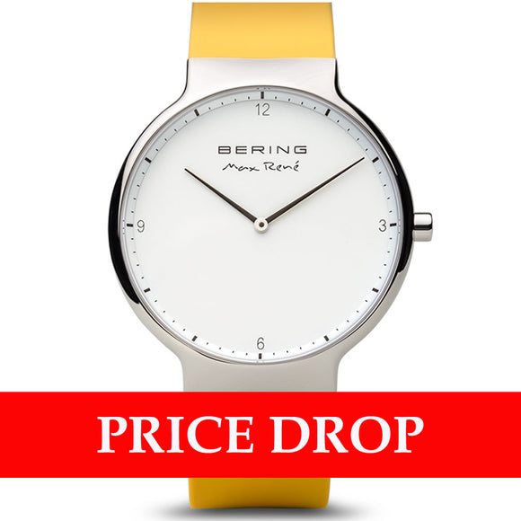 Bering Max René 15540-600 White 40 mm Men's Watch - Watch it! Pte Ltd