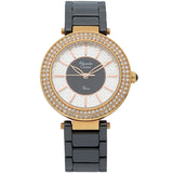 Alexandre Christie Passion Black Ceramic Strap Ladies Watch 2323LHBRGBA - Watch it! Pte Ltd