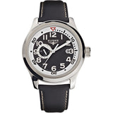 Elysee Automatic Black Leather Men Watch 28420 - Watch it! Pte Ltd