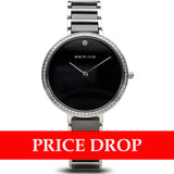 Bering Ceramic 30534-742 Black 34 mm Women's Watch - Watch it! Pte Ltd