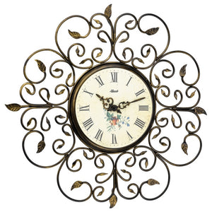 Hermle Floral Wrought Iron Wall Clock - Made In Germany - Watch it! Pte Ltd