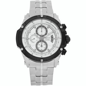 Alexandre Christie Stainless Steel Chronograph Mens Watch 6341MCBTBSL - Watch it! Pte Ltd
