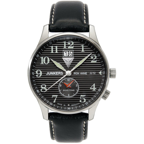 Junkers Iron Annie JU52 Dual Time 6640-2 - Watch it! Pte Ltd