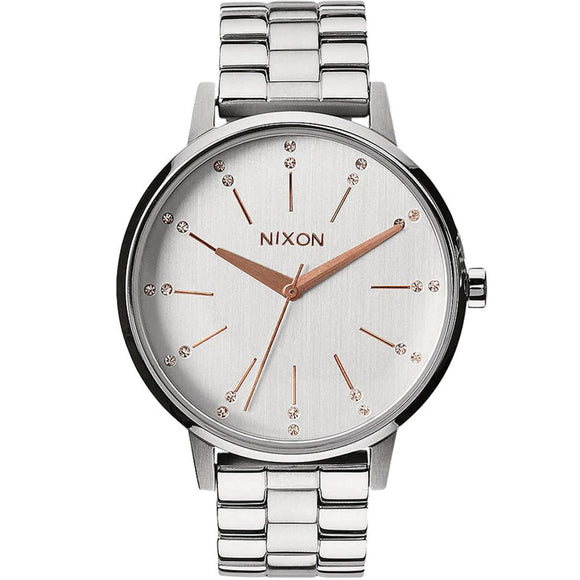 Nixon KENSINGTON A0991519 Silver - Watch it! Pte Ltd