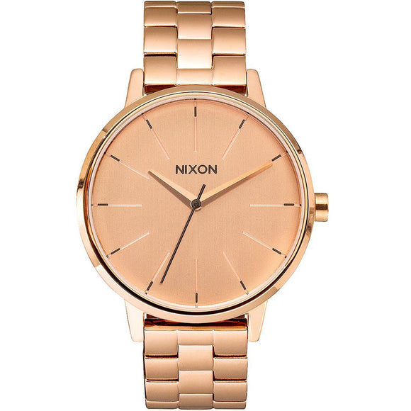 Nixon KENSINGTON A099897 Rose Gold - Watch it! Pte Ltd