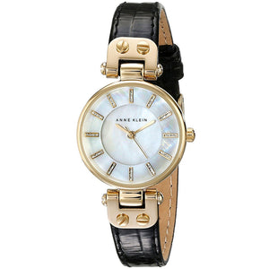 Anne Klein Mother of Pearl Ladies Watch AK/1950MPBK - Watch it! Pte Ltd