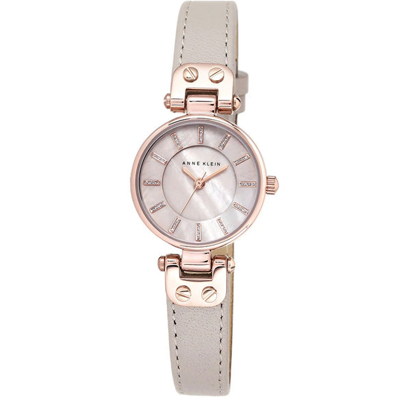 Anne Klein Mother of Pearl Ladies Watch AK/1950RGTP - Watch it! Pte Ltd