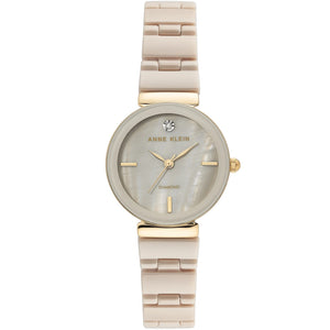 Anne Klein Ceramic Bracelet Ladies Watch AK/3392TNGB - Watch it! Pte Ltd