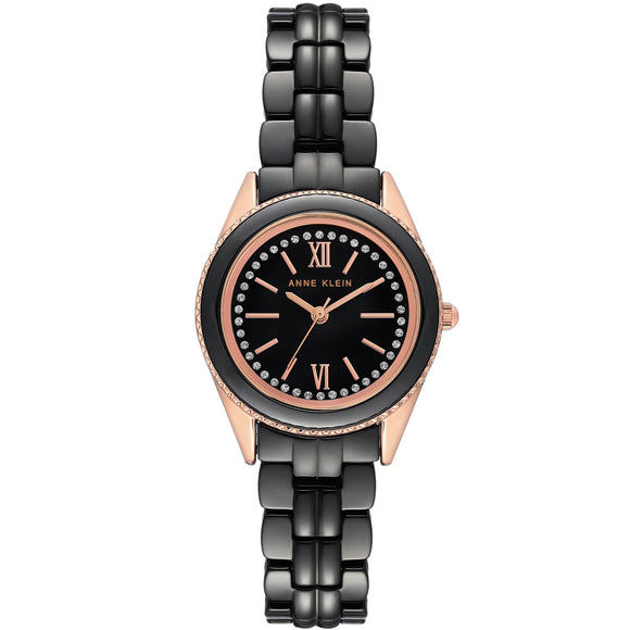 Anne Klein Ceramic Bracelet Ladies Watch AK/3410BKRG - Watch it! Pte Ltd