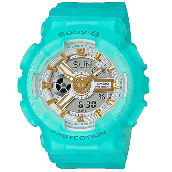 Casio BABY-G SEA GLASS BA-110SC-2ADR