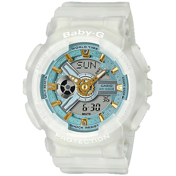 Casio BABY-G SEA GLASS BA-110SC-7ADR - Watch it! Pte Ltd