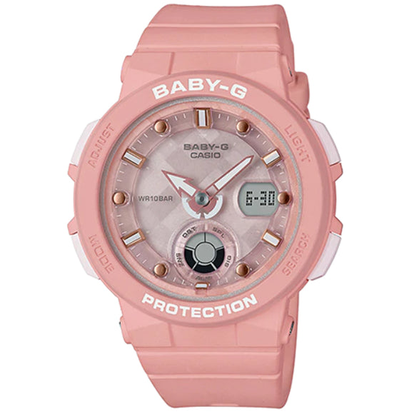 Casio BABY-G BEACH TRAVELER BGA-250-4ADR - Watch it! Pte Ltd