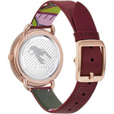 Ted Baker Womans HETTIEL Oxblood Strap Watch BKPHTF903 - Watch it! Pte Ltd