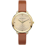 Ted Baker Womans HETTIEL Tan Strap Watch BKPHTF904 - Watch it! Pte Ltd