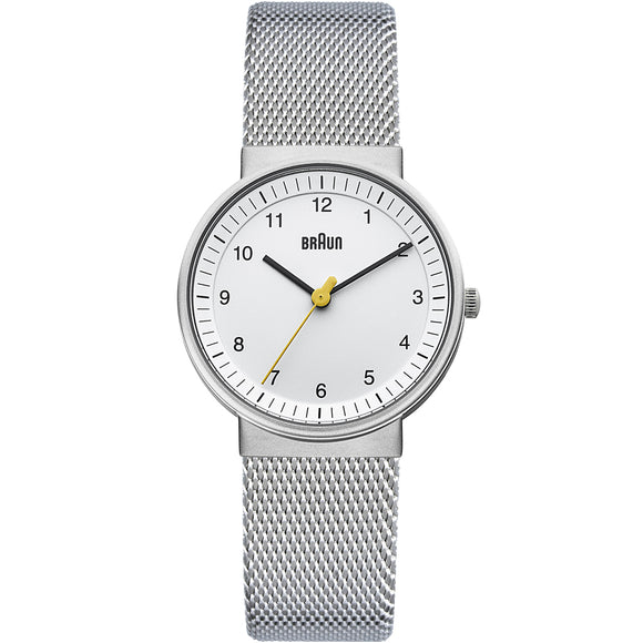 Braun Ladies BN0031 Classic Watch with Mesh Bracelet - Watch it! Pte Ltd