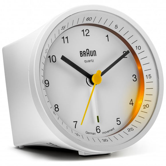 Braun Classic Alarm Clock BNC007WHWH - Watch it! Pte Ltd