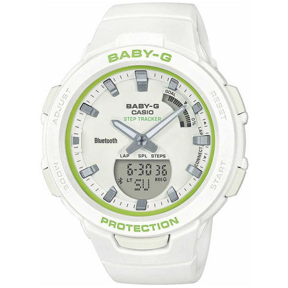 Casio BABY-G G-SQUAD BSA-B100SC-7ADR - Watch it! Pte Ltd