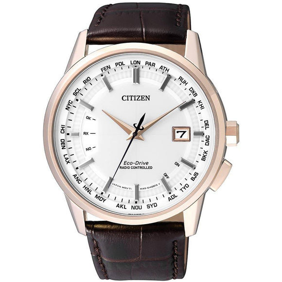 Citizen Eco-Drive Global Radio Controlled Perpetual Gents CB0153-21A - Watch it! Pte Ltd