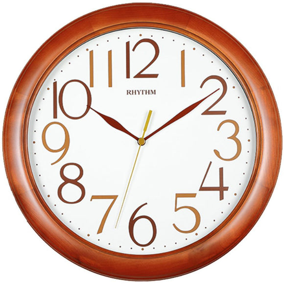 Rhythm Wooden Wall Clock CMG138NR06