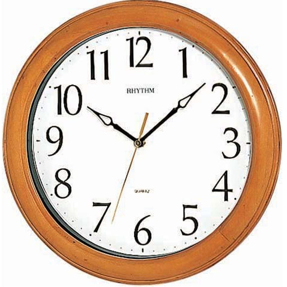 Rhythm Wooden Wall Clock CMG270NR07 - Watch it! Pte Ltd