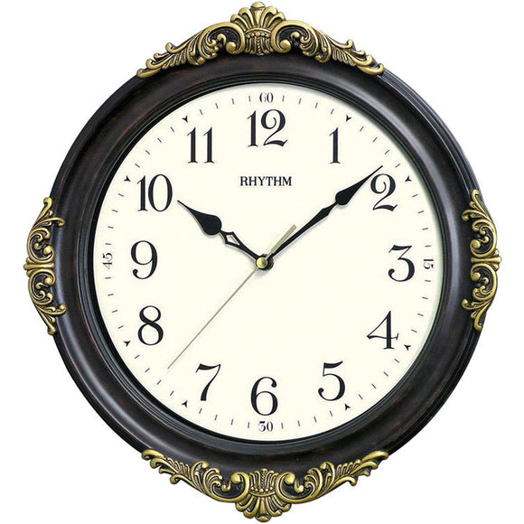 Rhythm Decorative Wall Clock CMG433NR06 - Watch it! Pte Ltd