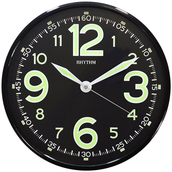 Rhythm CMG499BR02 Luminous Dial (Black) - Watch it! Pte Ltd