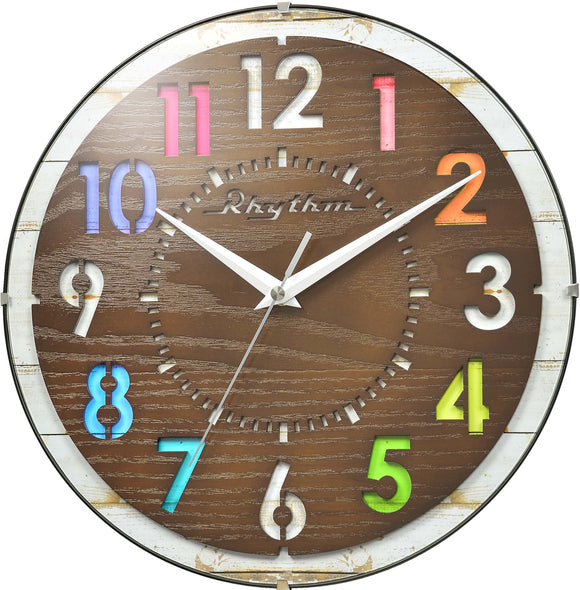 Rhythm Children Room Wall Clock CMG778NR06 - Watch it! Pte Ltd