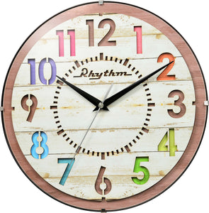 Rhythm Children Room Wall Clock CMG778NR07 - Watch it! Pte Ltd
