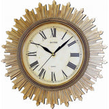 Rhythm Antique Design CMG887NR18 Wall Clock (Gold) - Watch it! Pte Ltd