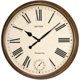 Rhythm Large Wooden Westminster Wall Clock CMH721CR06 - Watch it! Pte Ltd