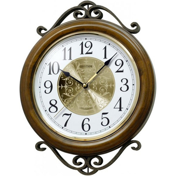 Rhythm Westminster Wall Clock CMH754NR06 - Watch it! Pte Ltd