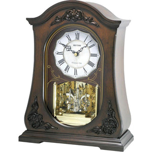 Rhythm WSM Chelsea Mantel Clock CRH165NR06 - Watch it! Pte Ltd