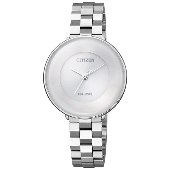Citizen Eco-Drive Stainless Steel Ladies Watch EM0600-87A - Watch it! Pte Ltd