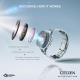 Citizen Eco-Drive Multifunction Gents BU2030-09W - Watch it! Pte Ltd