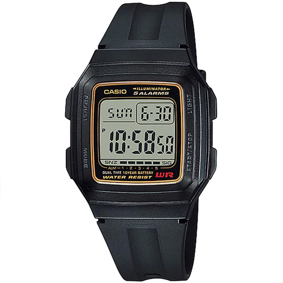 Casio CLASSIC F-201WA-9ADF - Watch it! Pte Ltd