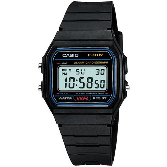 Casio CLASSIC F-91W-1DG - Watch it! Pte Ltd