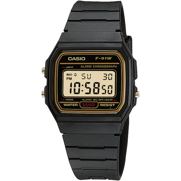 Casio CLASSIC F-91WG-9QDF - Watch it! Pte Ltd
