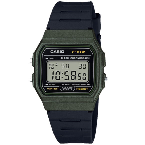Casio CLASSIC F-91WM-3ADF - Watch it! Pte Ltd