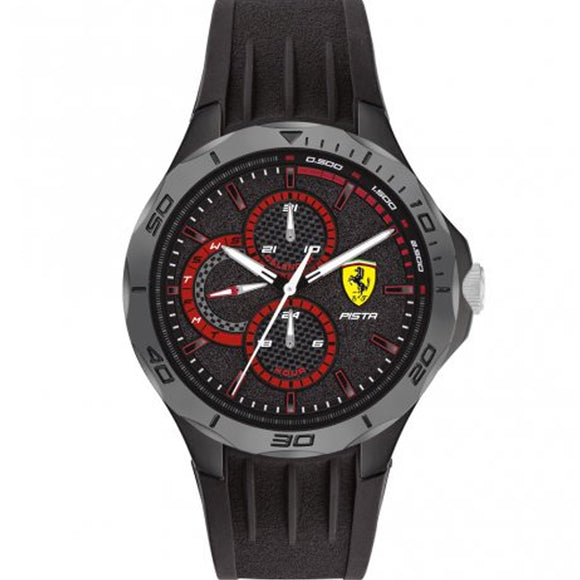 Ferrari Scuderia Pista Men's Watch F0830725 - Watch it! Pte Ltd