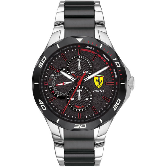Ferrari Scuderia Pista Multifunction Watch 0830761 - Watch it! Pte Ltd